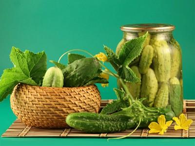 Огірки, солоні «по-домашньому»