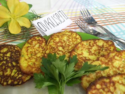 Оладки з кабачків, рецепт приготування з фото