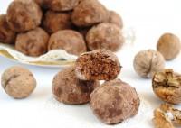 Орехово-шоколадні трюфелі