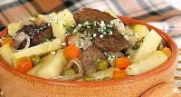 Гостре спекотне з яловичиною та овочами