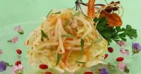Гострий овочевий салат по-китайськи