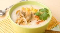Гострий суп з куркою і грибами