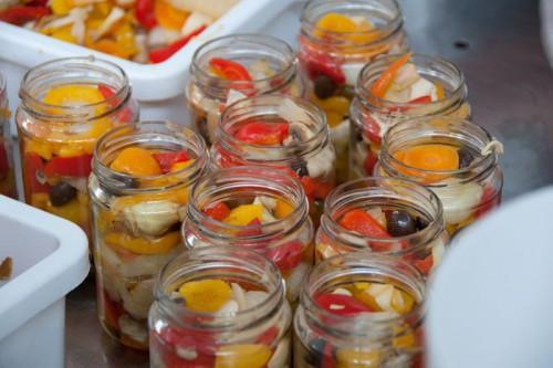 Овочі під маслом