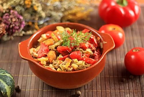 Овочі тушковані і рецепти нехитрі