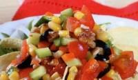 Пісний овочевий салат «Гарний настрій»
