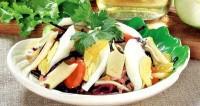 Овочевий салат з шинкою «Зимовий»