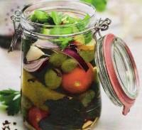 Овочевий салат-заготовка