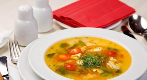 Овочевий суп, рецепти овочевого супу