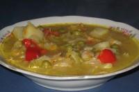 Овочевий суп з котлетами