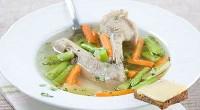Овочевий суп з качкою