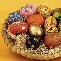 Великдень завершує Великий піст. Печемо паски, фарбуємо яйця