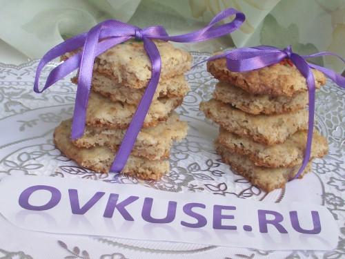 Печиво 4 злаку, рецепт приготування з фото