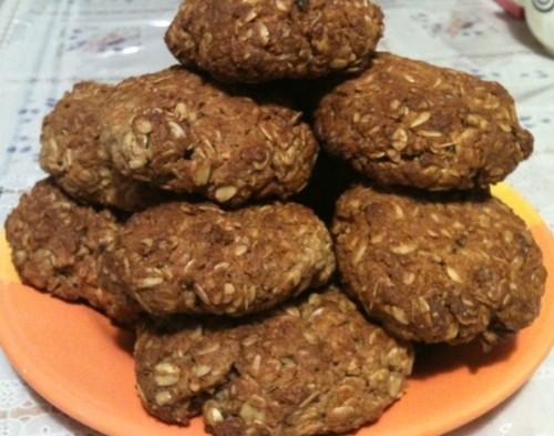 Печиво вівсяне з грушами