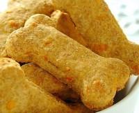 Печиво з беконом і сиром «Собачі кісточки»