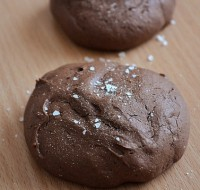 Печиво шоколадне з сіллю і згущеним молоком