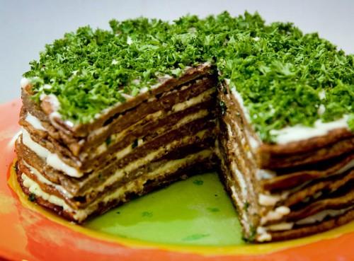 Печінковий торт - найкорисніший торт у світі