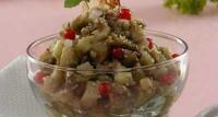 Печені баклажани з горіхами