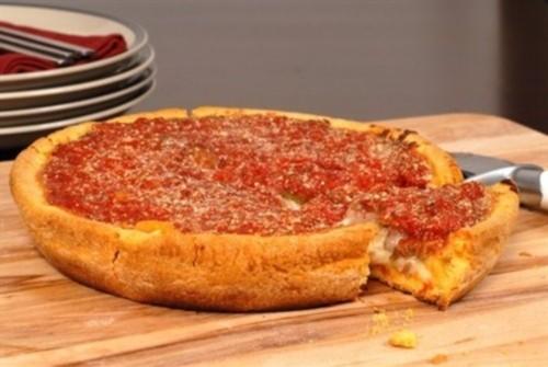Піца фарширована по-чекагски