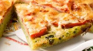 Піца з кабачків