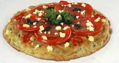 Піца з спагетті