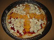 Приготування піци Чотири сиру
