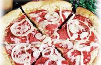 Піца з яловичиною і капустою «Рувим»