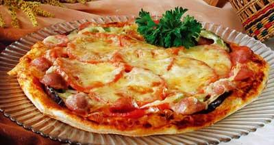 Піца з овочами