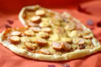 Піца з сосисками «Серце»