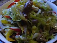 Пікантний овочевий салат «Петрович»