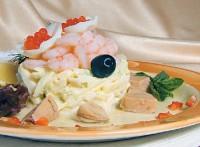 Пікантний салат з печінки тріски