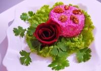 Пікантний салат з буряка