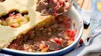 Пиріг «Ароматний» з бараниною