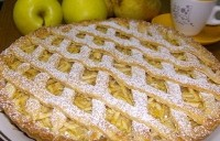 Пиріг яблучний «Сонечко»