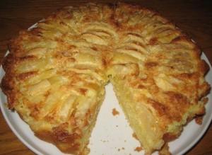 Пиріг з яблуками по-татарськи