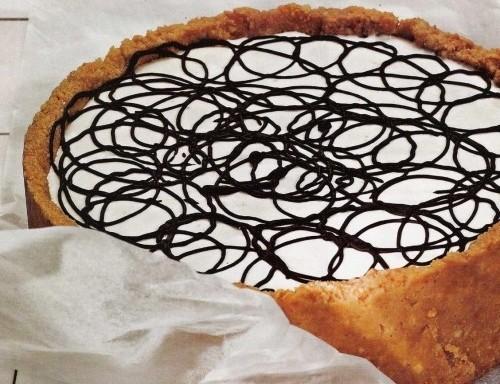 Пиріг з лаймом «Новорічний серпантин»