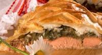 Пиріг з судаком і горбушею