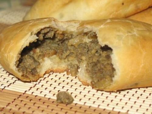 Пиріжки по-польськи з печінкою