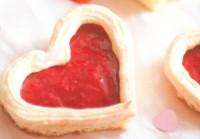 Тістечка бісквітні «Валентинки»