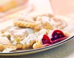 Полтавські вареники з вишнею
