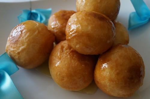 Пончики по-грецьки «Лукумадес»