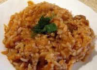 Пісна капуста з рисом