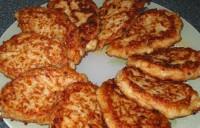 Пісні рисові котлети з грибним соусом