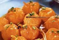 Пісний десерт «Карамелеві мандарини»