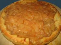 Пісний яблучний пиріг «Навпаки»