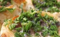 Пісну картоплю, фарширований грибами