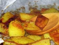 Пісний картопля з гірчицею