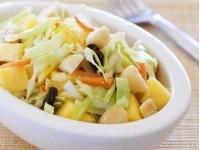 Пісний салат «Ананас з пекінською капустою»