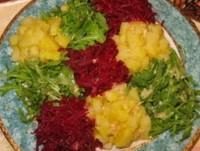 Святковий овочевий салат «Кольоровий»