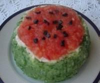 Святковий салат «Кавун»
