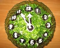 Святковий салат «Курочка під зеленою шубою»